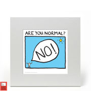 Edward Monkton Fine Art Print - Are You Normal