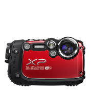 Fujifilm FinePix XP200 Tough Outdoor Digital Camera (16MP, 5x Optical Zoom) - Red