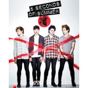 5 Seconds of Summer Album Cover - Mini Poster - 40 x 50cm