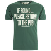 Xplicit Men's If Found T-Shirt - Green
