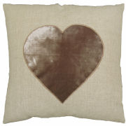 Torba Linen Heart Cushion