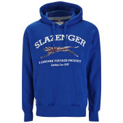 Slazenger Men's Sansom Over the Head Hoody - Crown Blue
