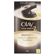 Olay Total Effects Moisturiser and Touch of MaxFactor Foundation - Fair SPF 15 (50ml)