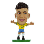 Soccerstarz - Brazil Neymar Jr - Home Kit - Toy Figure One Size Neymar Jr