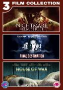 Nightmare On Elm Street/Final Destination 1/House of Wax