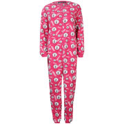 Women's Micro Fleece Sheep Onesie - Pink
