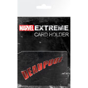 Marvel Extreme Deadpool - Card Holder - 10 x 7cm