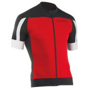 Northwave Men's Sonic Short Sleeve Jersey - Red/Black