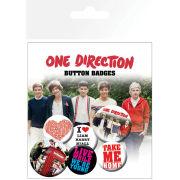 One Direction Album - Badge Pack