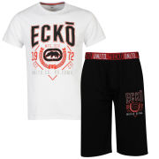 Ecko Men's Loungewear Set -  White/Black