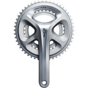 Shimano 105 FC-5800 Semi-Compact Bicycle Chainset - Silver