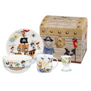 Little Rhymes Pirates 4 Piece Breakfast Set Gift Box - Multi