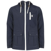 Crosshatch Men's Shaytons Canvas Jacket - Total Eclipse