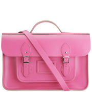 Cambridge Satchel Company 15 Inch Leather Batchel - Orchid