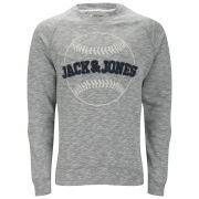 Jack & Jones Men's Fast Fashion Earnest Sweater - Grey Marl