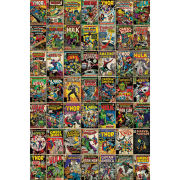 Marvel Comic Covers - Maxi Poster - 61 x 91.5cm