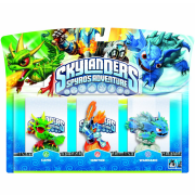 Skylanders: Spyro's Adventure: Triple Character Pack (Ignitor, Warnado and Camo)