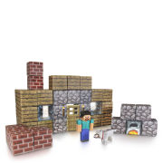 Minecraft Papercraft Over 48 Piece Set - Shelter Pack