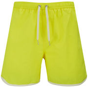 Jack & Jones Originals Men's Athletic Swim Shorts - Lemon Tonic