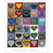 Madalenes Hearts - Mini Poster - 40 x 50cm