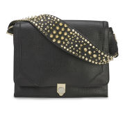 Rebecca Minkoff Women's Jax Stud Strap Leather Cross Body Bag - Black