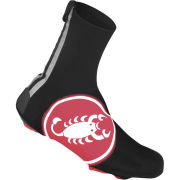 Castelli Diluvio Shoe Cover - Red Scorpion