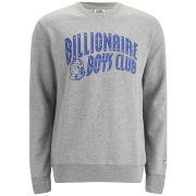 Billionaire Boys Club Men's Arch Logo Classic Crew Neck Sweatshirt - Grey
