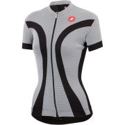 Castelli Women's Ipnosi Full Zip Jersey - Black/White