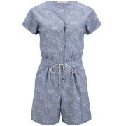 Sessun Women's May Grove Playsuit - Sky Flow