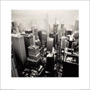Josef Hoflehner Broadway New York City 2009 Art Print (60x60)