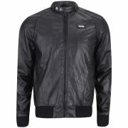 Ecko Men's Saboo Leather Look Jacket - Black