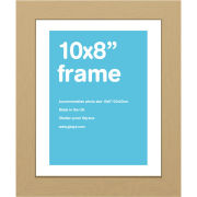 "Oak Frame 10"""" x 8"""
