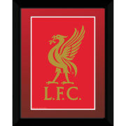 "Liverpool Club Crest - 8"""" x 6"""" Framed Photographic"