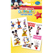 Mickey Mouse Club House Characters - Tattoo Pack