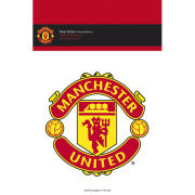 Manchester United Club Crest - Vinyl Sticker - 10 x 15cm