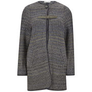 Sessun Women's Mileta Knit Jacquard Jacket - Volcan