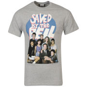 Shckld Men's Saved By The Bell Class Photo Graphic T-Shirt - Grey Marl