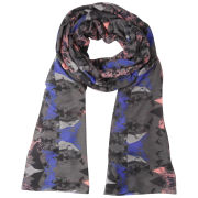 Vero Moda Mauanta Long Scarf - Black/Blue