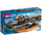 LEGO City: 4x4 with Powerboat (60085)