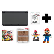 New Nintendo 3DS Black + Super Smash Bros. for Nintendo 3DS Pack