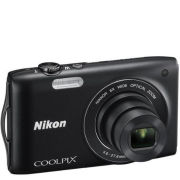 Nikon Coolpix S3200 Digital Camera (16MP, 6x Optical Zoom, 2.7 Inch LCD) - Black - Grade A Refurb