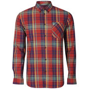 Farah 1920 Men's Marquis Long Sleeve Shirt - Red Chilli
