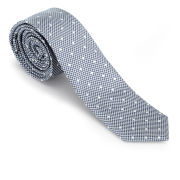 French Connection Men's Elliot Spot Silk Tie - Cashmere Tonal