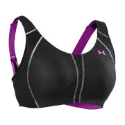 Under Armour Women's Armour Bra - Cup DD - Black