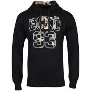 Ecko Men's Camo Ammo Hooded Sweatshirt - Black