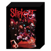 Slipknot Band Red - 40 x 30cm Canvas