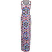 Mara Hoffman Women's Racer Back Maxi Dress - Kites Pink