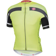 Castelli AR 4.0 Full Zip Jersey - Yellow