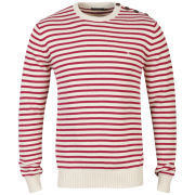 Farah 1920 Men's Easton Long Sleeve Jumper - Raspberry