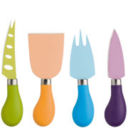 Zassenhaus Set of 4 Coloured Cheese Knives